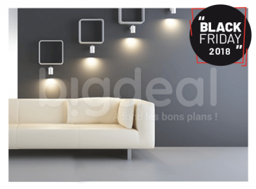Black Friday : un lot de 3 lampes LED à 15 DT Seulement chez Golden Eye Security
