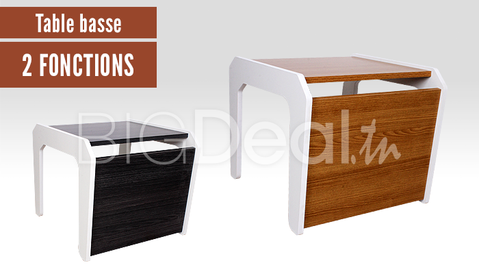 table basse multifonction 99 dt au lieu de 150 dt. Black Bedroom Furniture Sets. Home Design Ideas